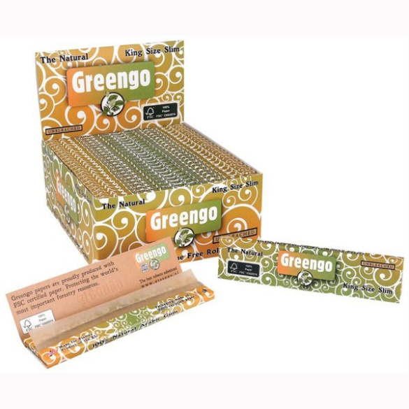 Greengo Kingsize Slim Kasse