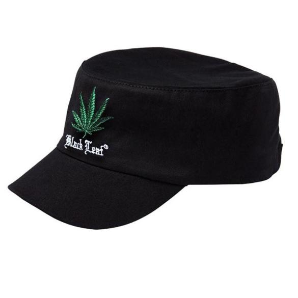 Black Leaf Army Cap