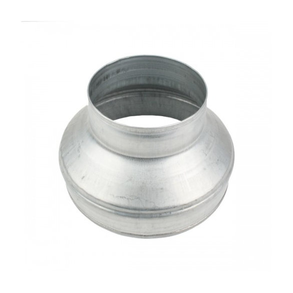 Reduktionsstykke 125mm-100mm Metal