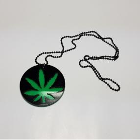 Halskæde Cannabis