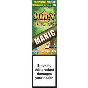 Juicy Jay Hemp Wraps Manic