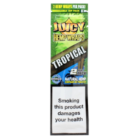 Juicy Jay Hemp Wraps Tropical