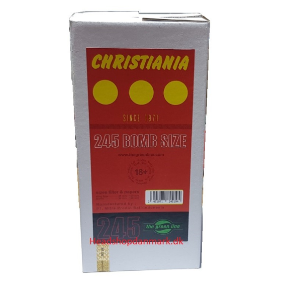 Christiania Cones  Bomb Size 245stk
