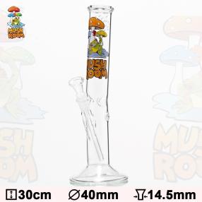 Glas Bong Svamp 30cm