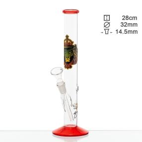 Glas Bong Løve 28cm