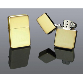 Benzin Lighter Guld I Box