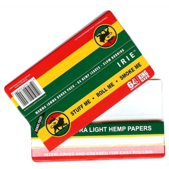 Iries Hemp Papir
