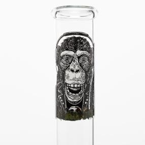 Glas Bong Green 30cm