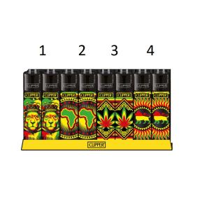 Clipper Lighter Rasta Stencils