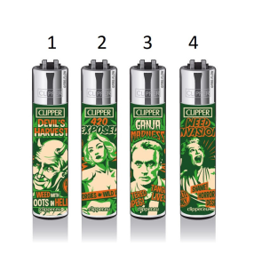 Clipper Lighter Reefer Madness