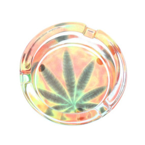 Glas Askebæger Cannabis Selvlysende
