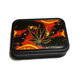 Opbevarings Box Cannabis Fire