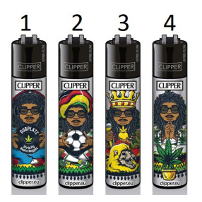 Clipper Lighter Rastaman